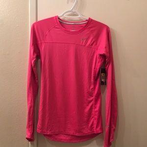 Pink reflective long sleeve
